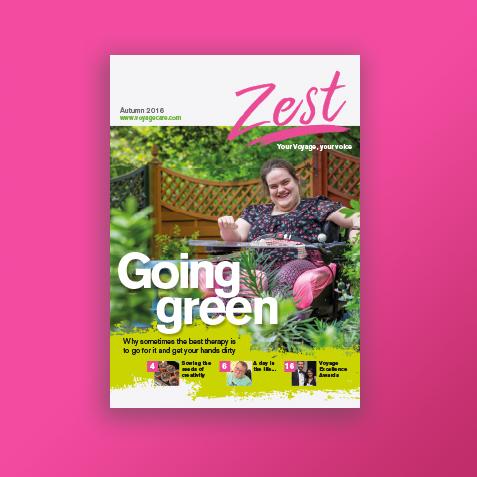 Zest magazine